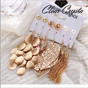 NEW ARRIVAL.. NWT 6PC Earring Set